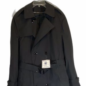 Garrison Collection US Army Black Lined Overcoat